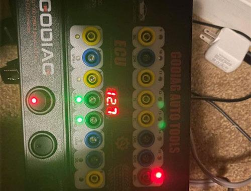 godiag gt100 ecu connector