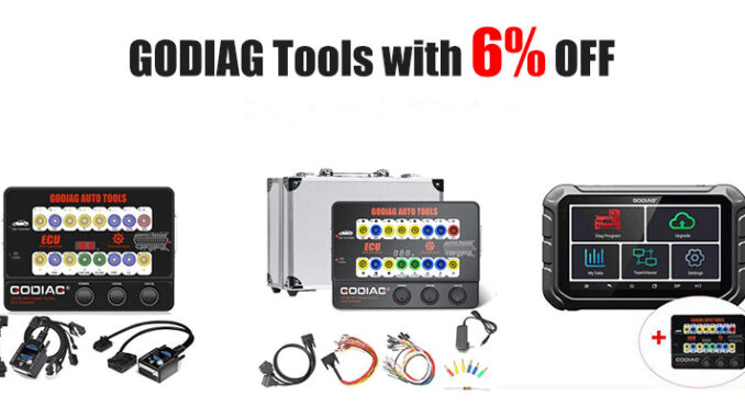 godiag tools with 6% off