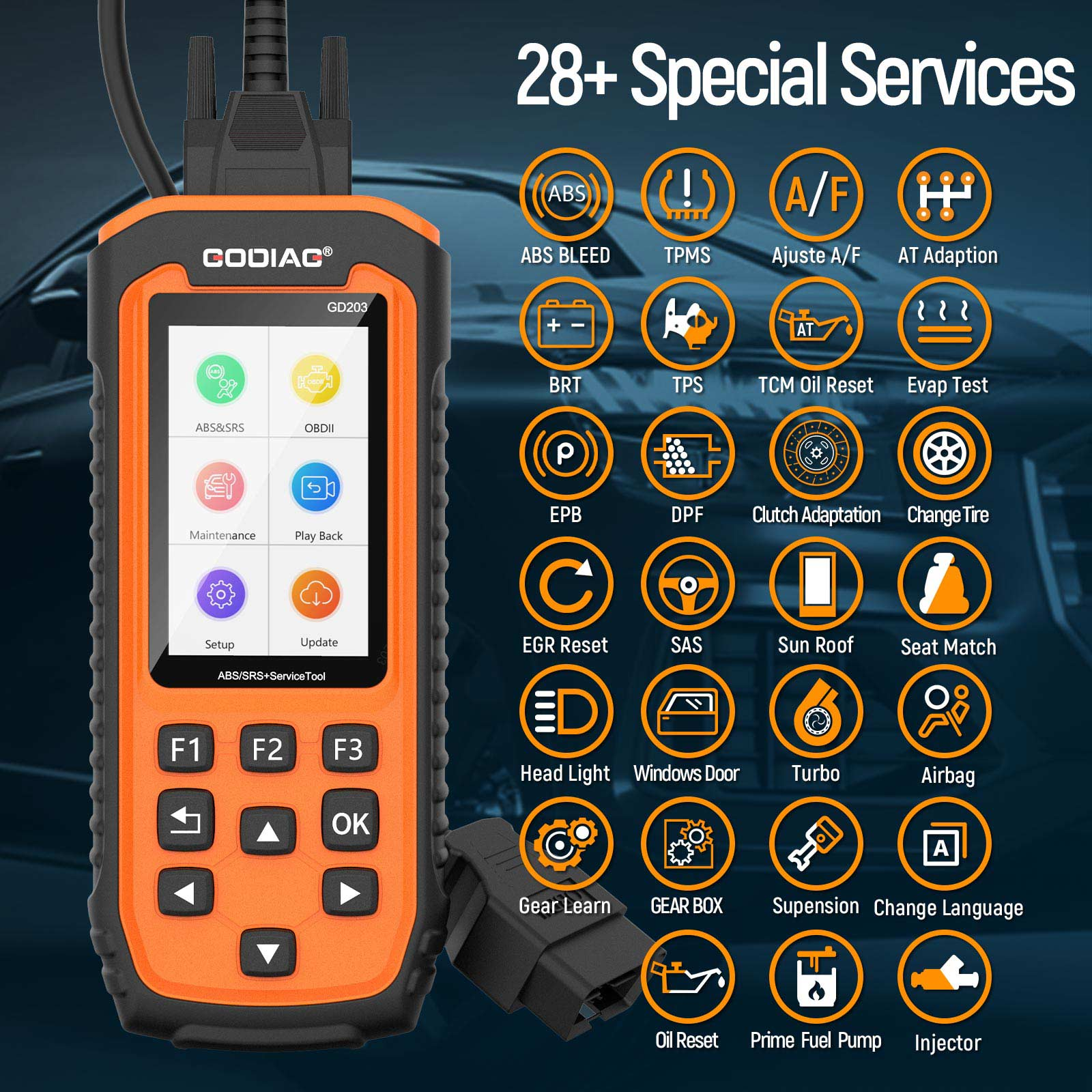 gd203 special services